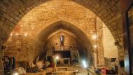 Forès: Església de Sant Miquel en obres  Ramon Sunyer