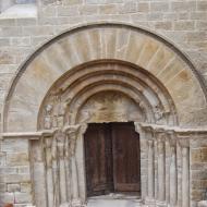 Forès: Església de Sant Miquel porta de les dones  Ramon Sunyer