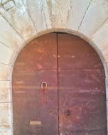El Mas de Bondia: porta  Ramon Sunyer