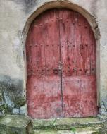 La Prenyanosa: detall porta  Ramon Sunyer