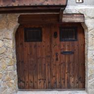 Vergós: porta  Ramon Sunyer