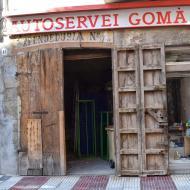 Cervera: botiga Gomà  Ramon Sunyer