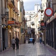 Cervera: carrer batalla  Ramon Sunyer
