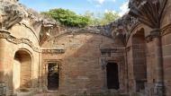 Guissona: Obra de'n Fluvià, palau episcopal inacabat  Ramon Sunyer