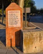 Vallfogona de Riucorb: versos del rector  Ramon Sunyer