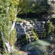 Santa Coloma de Queralt: Peixera al riu Gaià  Ramon Sunyer