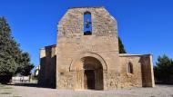 Santa Coloma de Queralt: Santa Maria de Bell-lloc romànic (XII)  Ramon Sunyer