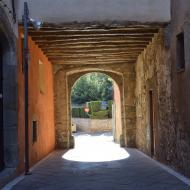 Santa Coloma de Queralt: Portal d'en Martí  Ramon Sunyer