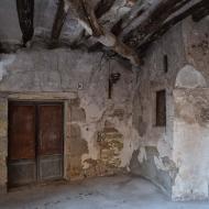 Santa Coloma de Queralt: plaça de l'església  Ramon Sunyer