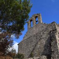 Montfalcó el Gros: Església de Sant Pere romànic s XI  Ramon Sunyer