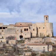 Montfalcó Murallat: Església de sant Pere  Ramon Sunyer