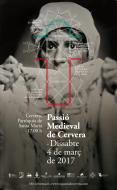 cartell Passió Medieval de Cervera 2017