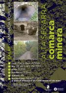 cartell Caminada 'Alta Segarra, comarca minera'