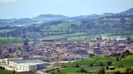 Santa Coloma de Queralt: Vista des d'Aguiló  Ramon Sunyer