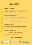 cartell Festa Major de Palouet 2017