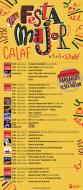 cartell Festa Major de Calaf 2017