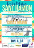 cartell Festa Major de Sant Ramon 2017