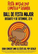 cartell Festa Major de l'Ametlla de Segarra 2017