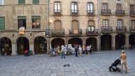 Guissona: Plaça Major  Ramon Sunyer