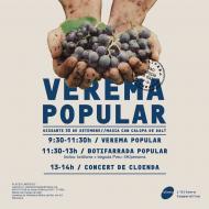 cartell Verema popular de l'Olivera