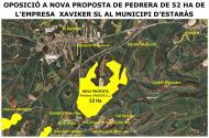 L'Empresa XAVIKER S.L. sol·licita a l'ajuntament d'Estaràs començar l'aprofitament de pedra a Malacara en una superfície major a l'autoritzada