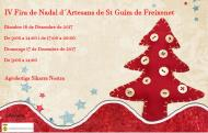 IV Fira de Nadal d'artesans de Sant Guim de Freixenet