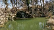 Sedó: Peixera de Sedó al riu Sió  Ramon Sunyer