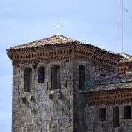 Montcortès de Segarra: castell detall torre  Ramon Sunyer