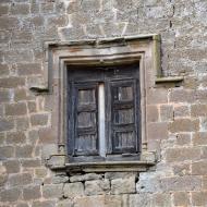 Montcortès de Segarra: castell finestra  Ramon Sunyer
