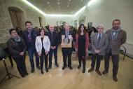 Santa Coloma de Queralt: L'espitllera del setè Premi Sikarra es queda al Castell de Santa Coloma de Queralt  Xavier Santesmasses