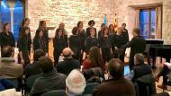 Santa Coloma de Queralt: Actuació del Cor Oh!  Xavier Santesmasses