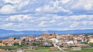 Les Pallargues: vista del poble  Ramon Sunyer
