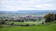Concabella: Vista des de Les Pallargues  Ramon Sunyer