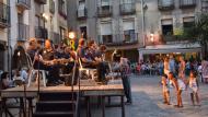 Santa Coloma de Queralt: Sardanes a la plaça  Ramon Sunyer