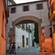 Santa Coloma de Queralt: portal del castell  Ramon Sunyer