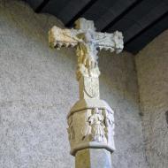 Santa Coloma de Queralt: Creu de terme  Ramon Sunyer