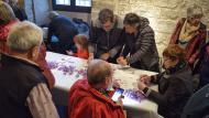 Santa Coloma de Queralt: Esbrinant safrà  Ramon Sunyer