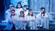 Calaf: Pastorets infantils  Els Pastorets de Calaf