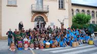 L'Agrupació Seny Major de Cervera guardonada amb el vuitè premi Sikarra. El grup jove dels bombollers