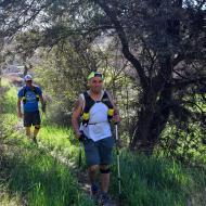 Castellnou d'Oluges: XX Marxa dels castells  Ramon Sunyer