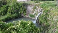 Pallerols: peixera al riu Ondara  Ramon Sunyer