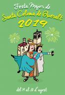 cartell Festa Major de Santa Coloma de Queralt 2019