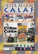 cartell Festa Major de Calaf 2019