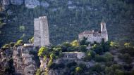 Santa Perpètua de Gaià: Torre i església  Ramon Sunyer