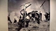 Cervera: Rodatge de 'Rei de Reis' de Nicholas Ray  Ramon Sunyer