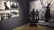 Cervera: Rodatge de 'L'home en una terra salvatge' de Richard C. Sarafian  Ramon Sunyer