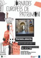 cartell JEP Portals oberts a Santa Coloma de Queralt