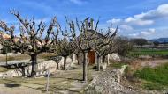 Les Oluges: Capella de Santa Engràcia  Ramon Sunyer