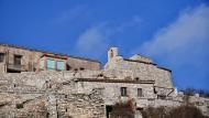 Les Oluges: Vista de la Capella de Sant Salvador de l'Oluja Alta  Ramon Sunyer