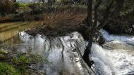 La Prenyanosa: Peixera de la Prenyanosa al riu Sió  Ramon Sunyer